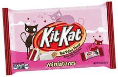 Cake-Flavored Chocolate Bars - Hershey's Kit Kat Minis Now Come in a Decadent Red Velvet Flavor