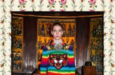 Playfully Luxurious Lookbooks - The Pre-Fall Gucci Collection Was Presented with Stylized Imagery