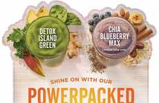 Energizing Superfood Smoothies - These New Powerpacked Smoothies are Designed to Boost Energy Levels
