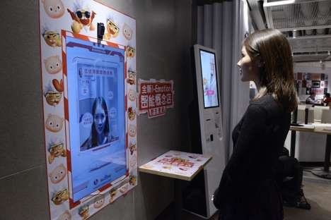 Facial Recognition Menu Boards - KFC's Smart Restaurant Tech Suggests Food by Looking at Guests