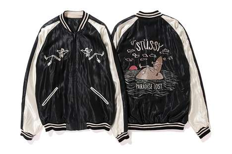 Silky Skeleton Jackets