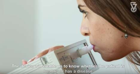 Disease-Detecting Breathalyzers
