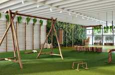 "Natural Gym Pop-Ups - Biofit is Launching the World's First ""Biophyilic Indoor Gym"""
