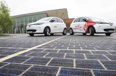 Electricity-Generating Solar Roads