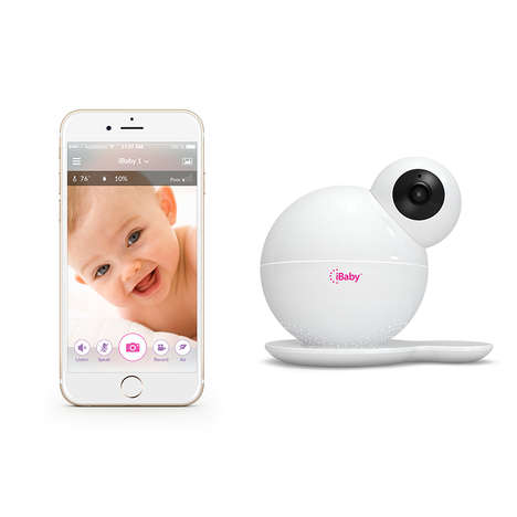 All-In-One Baby Monitors - The iBaby Monitor M6S Features Air Quality Sensors and Night Vision