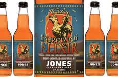 Energizing Orange Sodas - Jones Soda Recently Created the First Final Fantasy-Themed Soda in the US