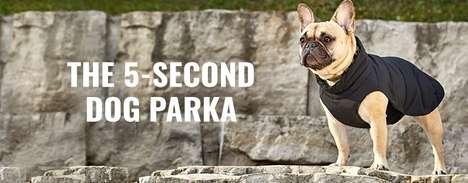 Slip-On Dog Parkas