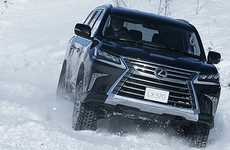 Snowy Supercar Schools - Lexus is Now Offering Winter Driving Lessons in Japan