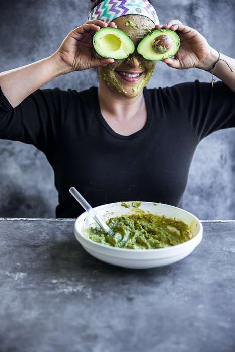 Avocado Matcha Masks - This DIY Egg Face Mask is Supposed to Nourish Skin From the Outside In