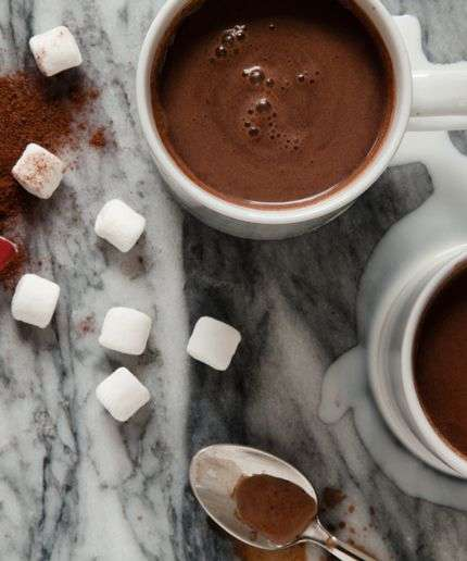 Cabernet Cocoa Recipes - This Recipe for Red Wine Hot Chocolate Will Warm You This Winter Season