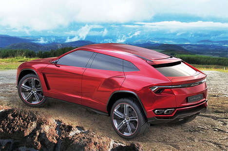 Hybrid Supercar SUVs - The Lamborghini Urus will Hit the Market in 2018