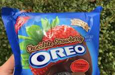 Romantic Dessert Cookies - The Chocolate Strawberry Oreos are Limited-Edition for Valentine's Day