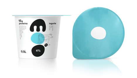 Visualized Imagery Yogurt Branding