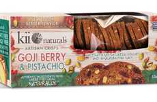 Artisanal Cracker Snacks - The Kii Naturals Artisan Crisps are Free of Artificial Ingredients