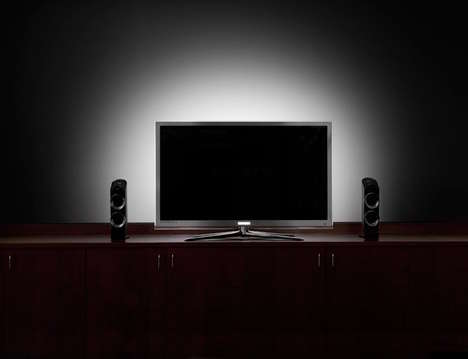 Eye-Adjusting TV Lights - The Antec USB-Powered HDTV Bias Lighting Ensures Better Eye Comfort
