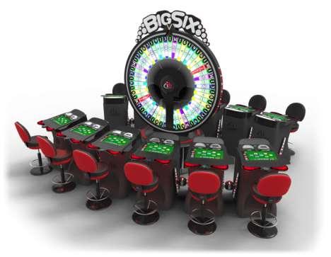 Gambling Wheel Stations