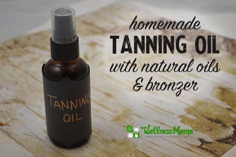 DIY Tanning Oils - This Tanning Oil Deepens Skin Color While Simultaneously Protecting It