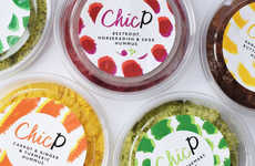 "Colorful Sustainable Hummus - ChicP Reduces Food Waste by Using So-Called ""Ugly"" Produce"