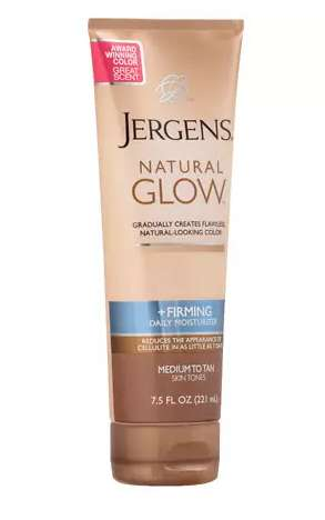 Skin-Firming Self Tanners - Jergens Natural Glow Offers a Deep and Gradual Tan