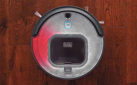 Dirt-Compressing Robot Vacuums