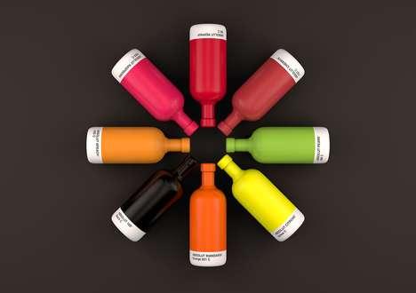 Color-Coordinated Vodka Branding