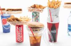Drink-Topping Snack Packs - Snacktops' Food Couplers Let Consumers Hold Food and Drinks Together