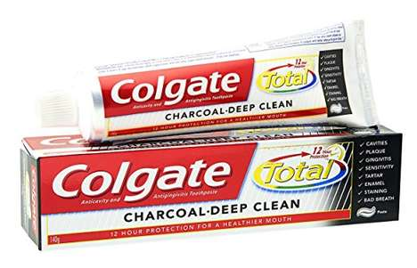 Deep-Cleaning Charcoal Toothpastes