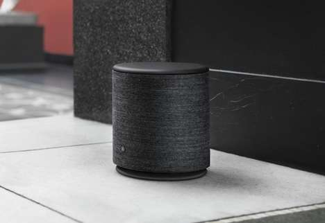 Touch-Sensitive Smart Speakers
