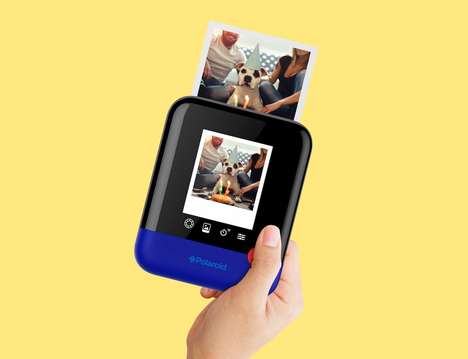 HD Instant Cameras - The Polaroid Pop Instant Camera Offered Enhanced Capabilities at CES 2017