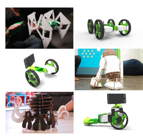 Hand-Controlled Robot Toys
