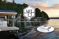 Solar-Powered Lake Purifiers