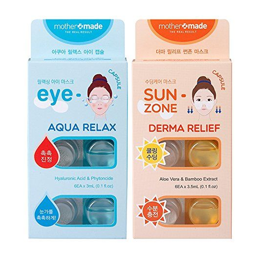 Encapsulated Eye Mask Packs