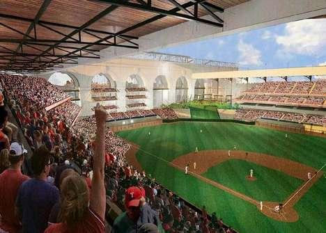 Multipurpose Baseball Stadiums