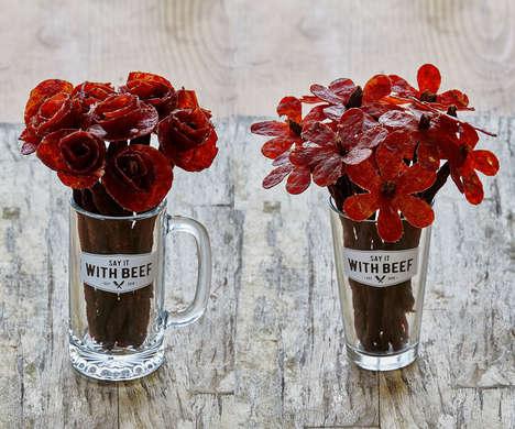 Beef Jerky Floral Arrangements