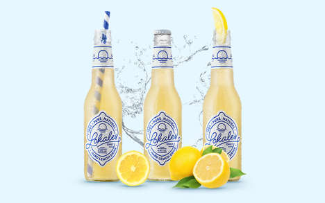 Beachy Hard Lemonades - These Polish Lemonades Offer Fresh Flavors and Imagery