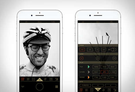 Film-Inspired Photo Apps