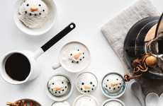Snowman Affogato Treats - This Caffeinated Snowman Recipe Keeps Spirits High in Cold Weather