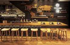 Premium Siphon-Brewed Coffees - The Reserve Coffee Bar is a Luxury Version of Starbucks
