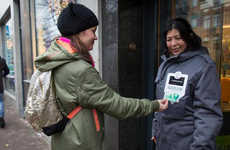 Card-Accepting Homeless Coats