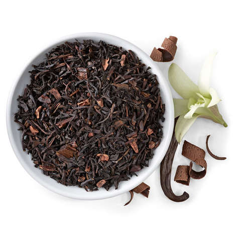 Coffee-Flavored Black Teas