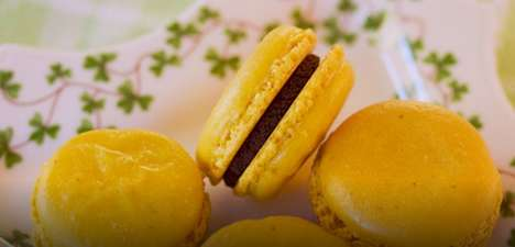 Wheatless Yuzu Macarons