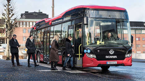 Speedy Recharging Electric Buses