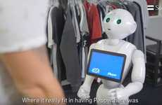 Robotic Campus Retailers - The AVE Used SoftBank's Pepper Robot to Drive Foot Traffic