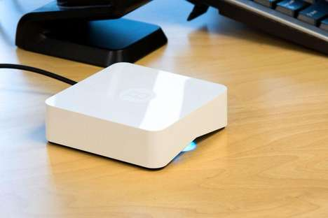 Network-Scanning Security Routers