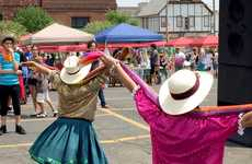 Latino Community Markets - Cleveland 'La Placita' is Part of 'La Villa Hispana' Community Project