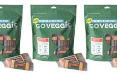 Spicy Lactose-Free Cheese Snacks - The GO VEGGIE Lactose and Soy-Free Bars are a Healthy Option