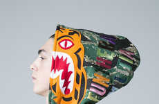 Shark-Branded Camouflage Streetwear - The New BAPE Collection Features Bold Color Palettes and Art
