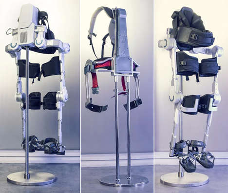 Supportive Exoskeleton Suits - Three Hyundai Exoskeletons were Unveiled by the Brand at CES 2017