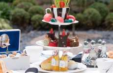 Whimsical Family Tea Parties - The Sanderson Hotel Turns Afternoon Tea into a Kid-Friendly Affair