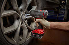 High-Impact Power Tools - The Milwaukee M18 FUEL Mid-torque Impact Wrench is Powerful